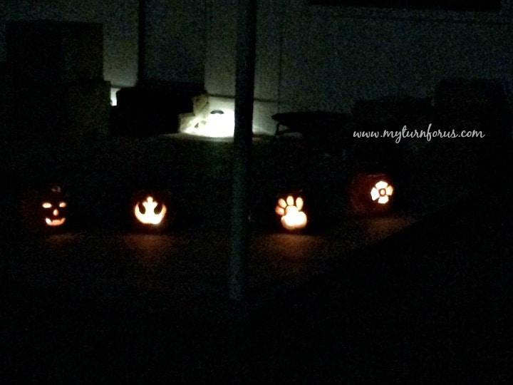 Cook Jack o lanterns into pumpkin puree