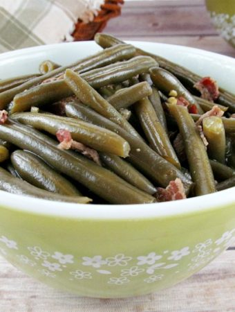 How to make Grandma's best Old Fashioned Southern Style Green Beans