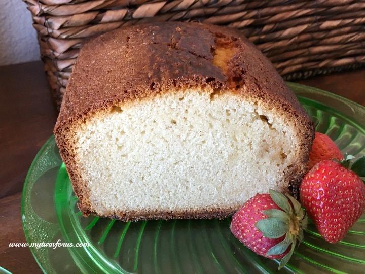 delicious pound cake recipe