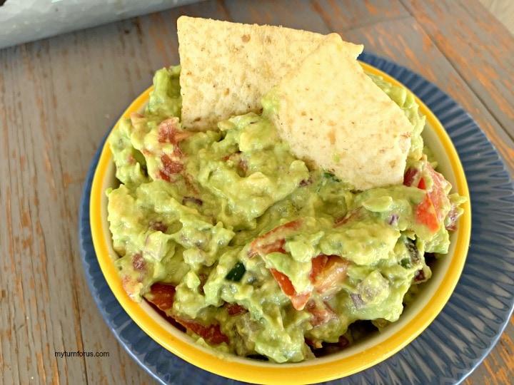 non browning guacamole, creamy guacamole