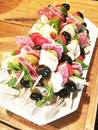 How to make Italian Antipasto Skewers