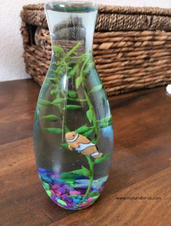 DIY Mini Fish Aquarium