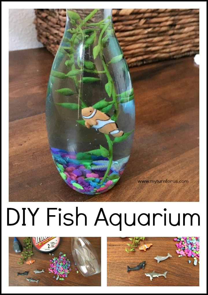 Diy Mini Fish Aquarium My Turn For Us