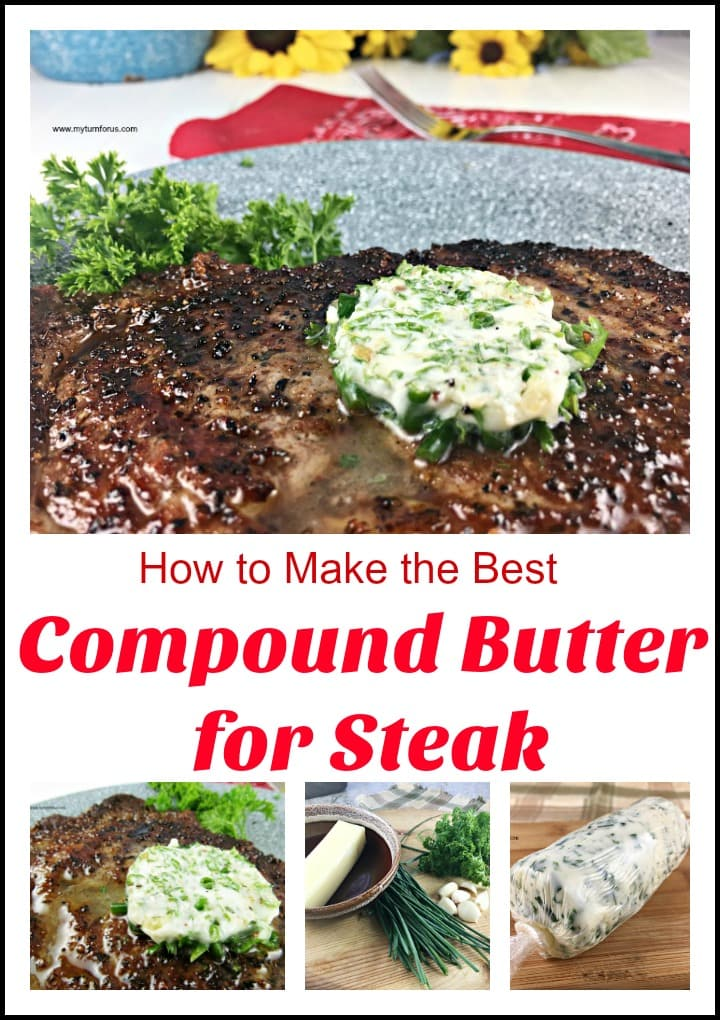 Compound Butter for Steak, herb butter