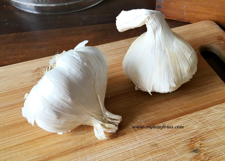 1 bulb of garlic, roasted garlic paste