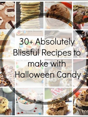 30+ Absolutely Blissful Recipes to make with Halloween Candy