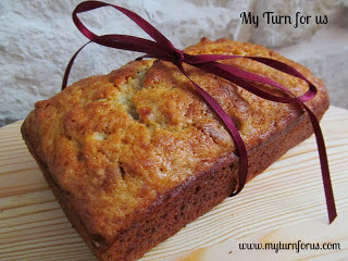 Banana Bread with rum, Spiced rum banana bread