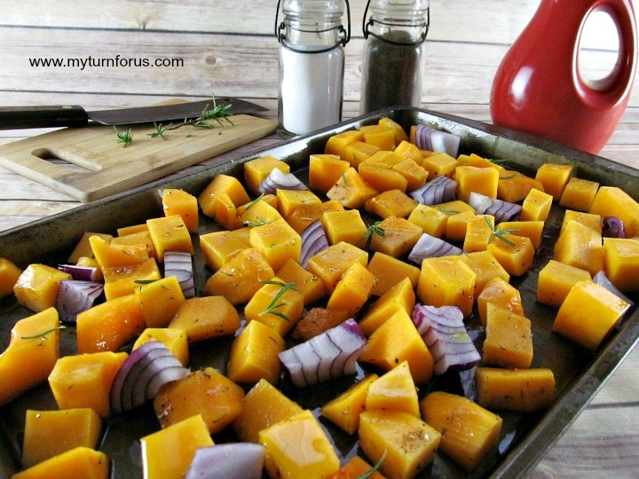 squash recipe, butternut squash, baked squash