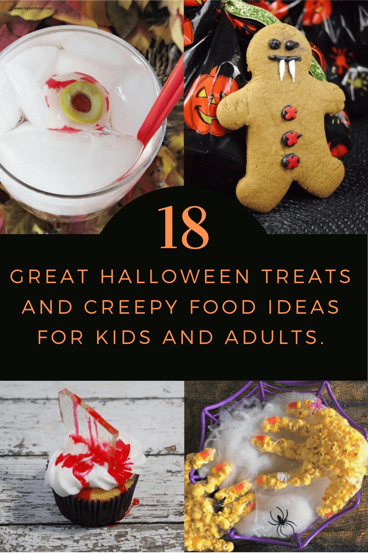 Halloween Snack Ideas, Halloween Treats Halloween Snacks, Creepy Snacks