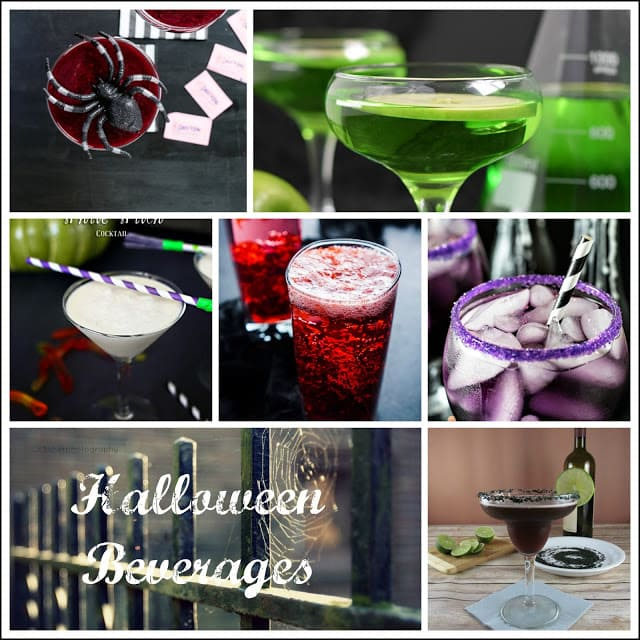 Halloween Beverage Ideas for a party