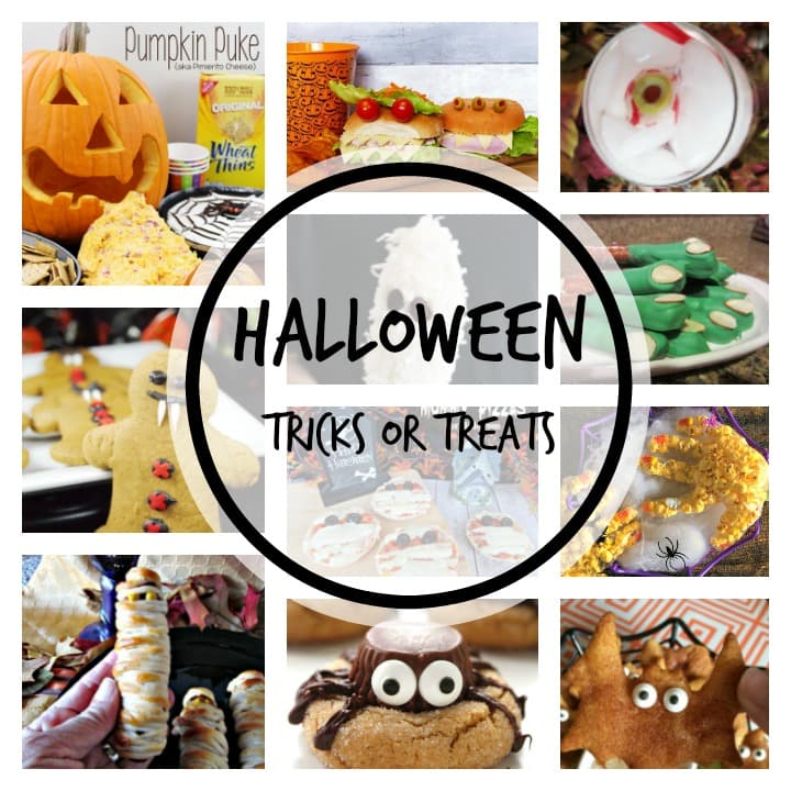 Halloween Creepy Snacks, Halloween treats for a party
