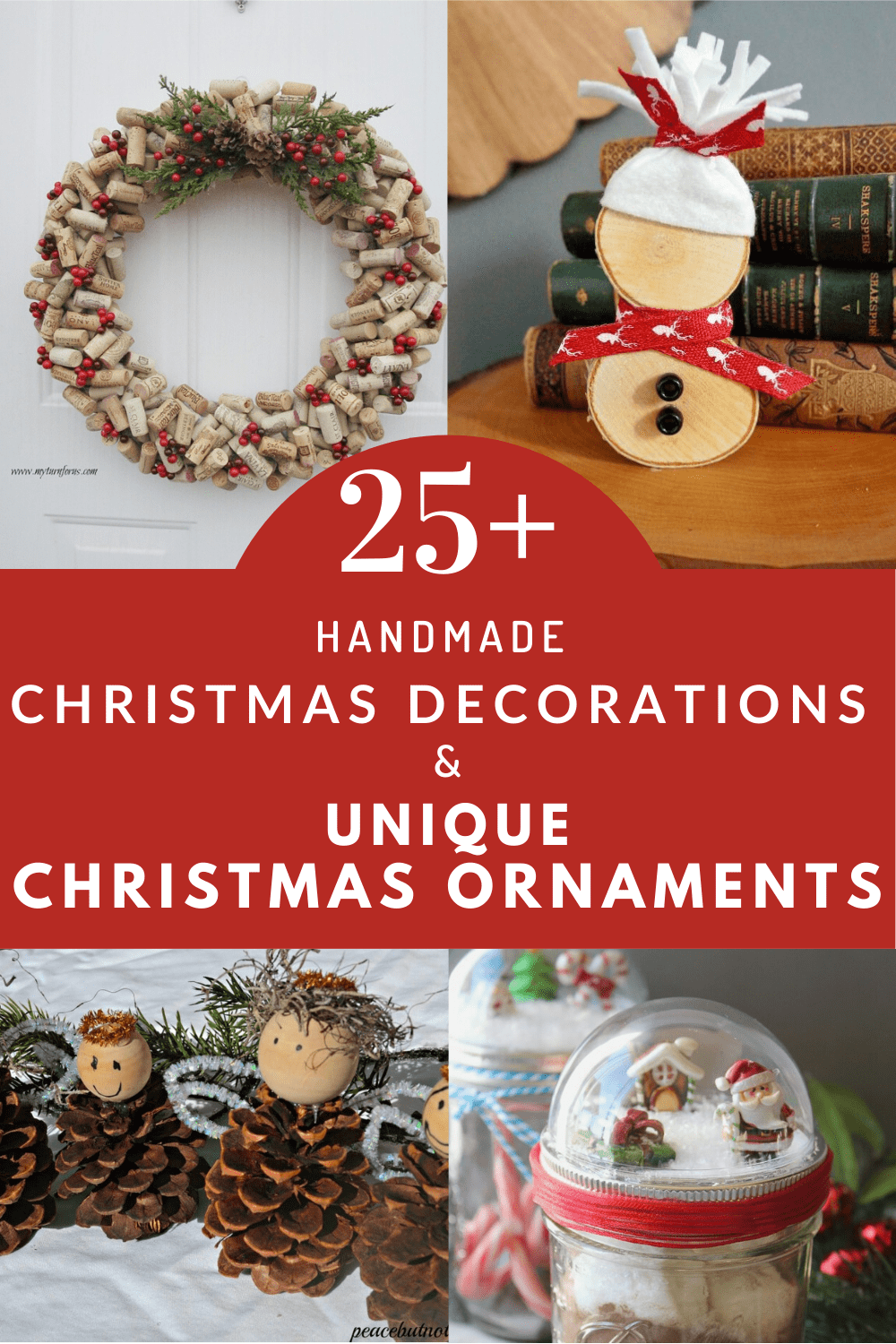 Handmade Christmas Decorations, Unique Christmas decorations, unique Christmas Ornaments