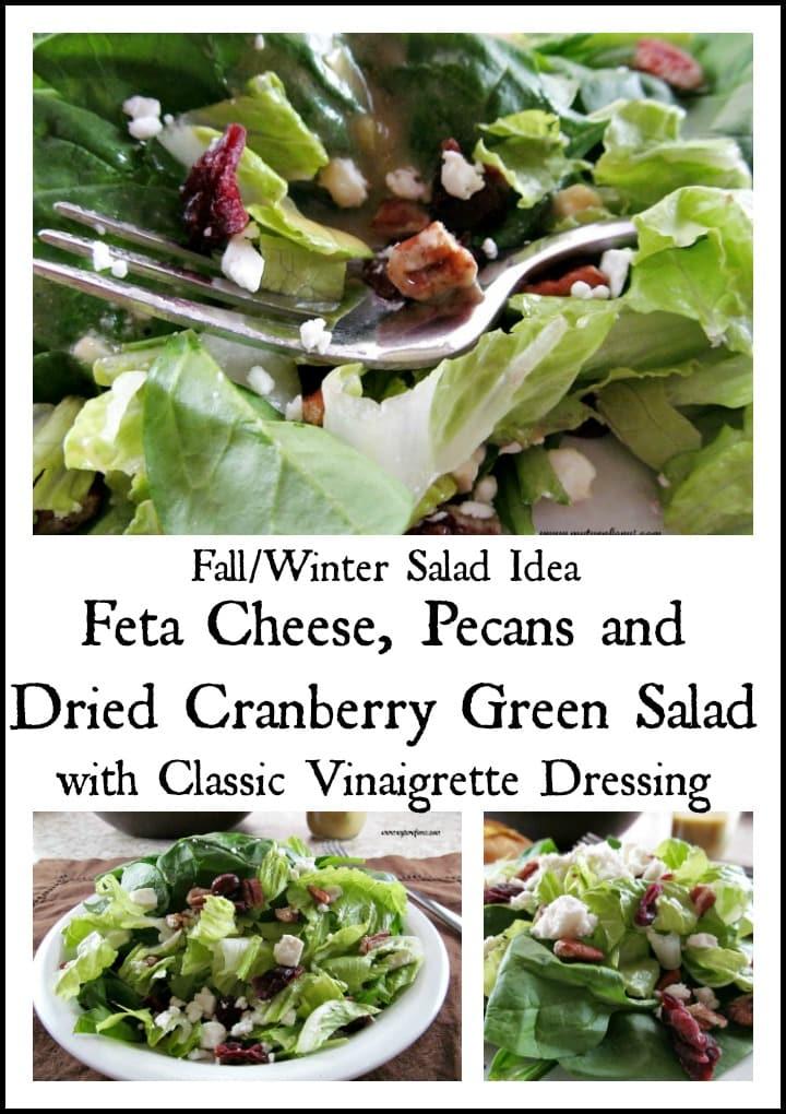 Fall Salad or Winter Salad Recipe