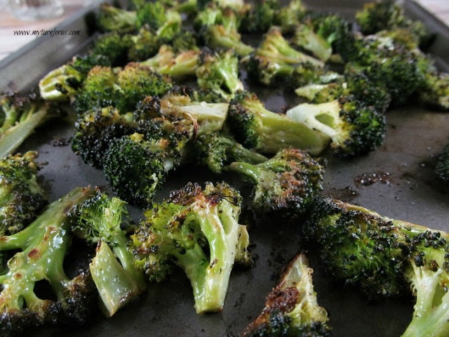 Caramelized Roasted Broccoli