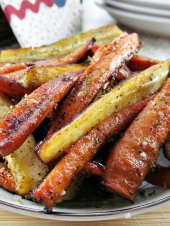 how to cook honey glazed carrots and parsnips