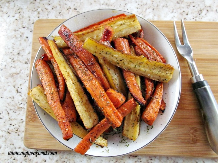 honey glazed parsnips and carrots