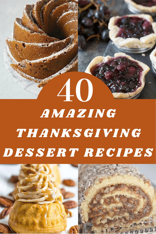 Thanksgiving Dessert Recipes, Classic Thanksgiving Desserts plus a few unusual Desserts for Thanksgiving.