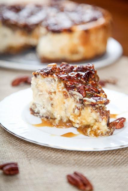 Pecan Pie Cheesecake Thanksgiving Dessert