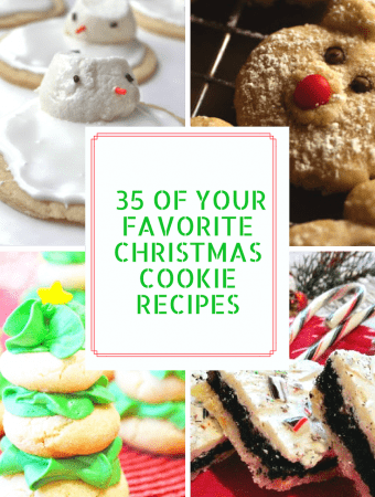 Over 35 of your Favorite Christmas Cookies