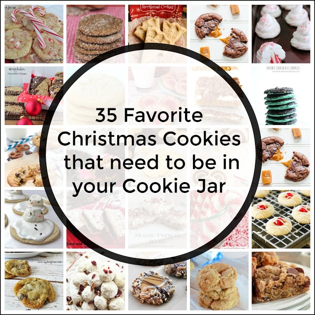 35 Favorite Christmas Cookie Recipe