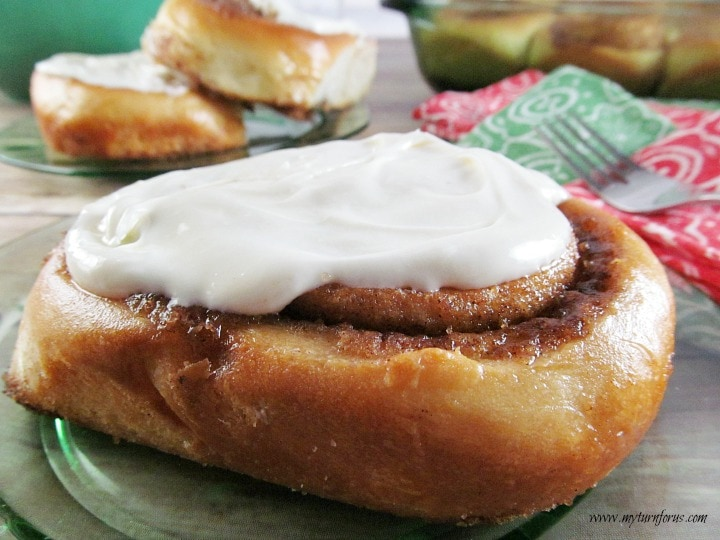 Big Texas Cinnamon Rolls, simple cinnamon roll recipe