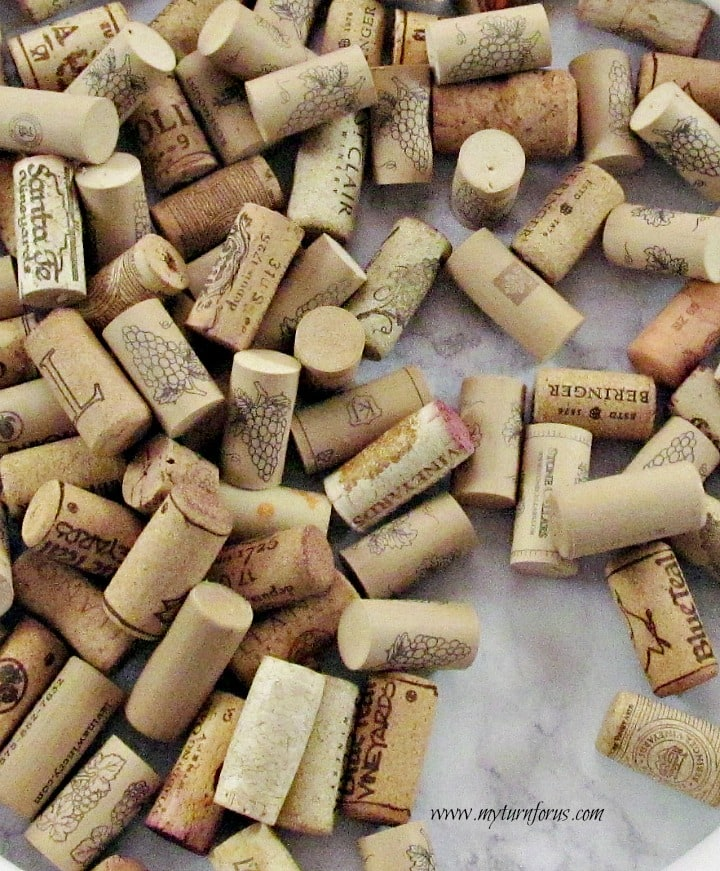 Christmas Wreaths, wine cork crafts