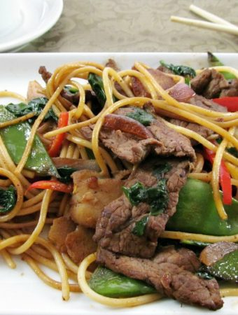 How to make a Quick and Easy Beef Lo Mein