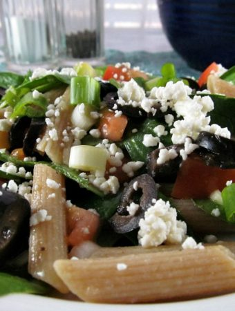 The Best Fresh Spinach and Pasta Salad you need to make today