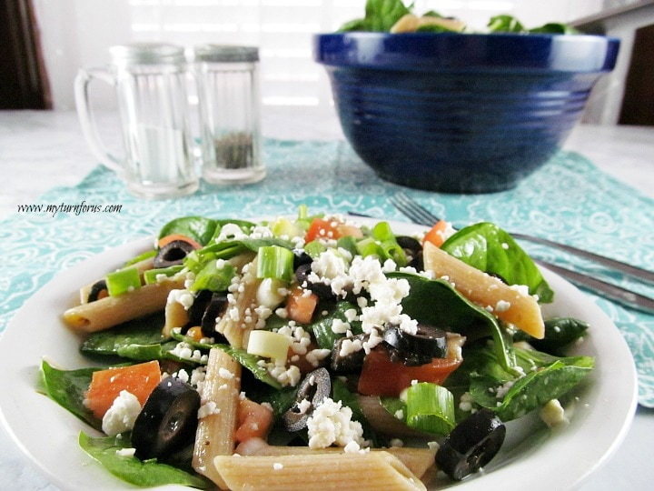 Penne Pasta salad,