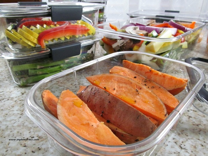 Healthy meals Prep