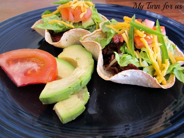 Beer Braised Taco Boats