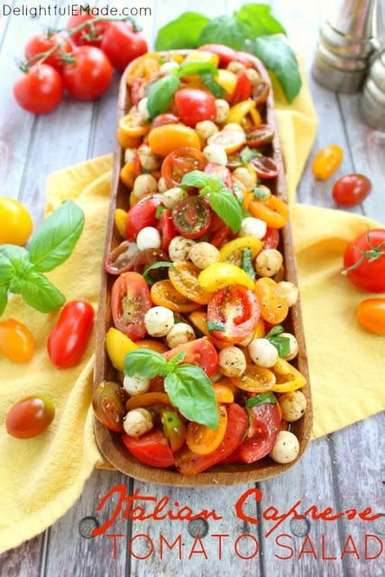caprese tomato basil sauce