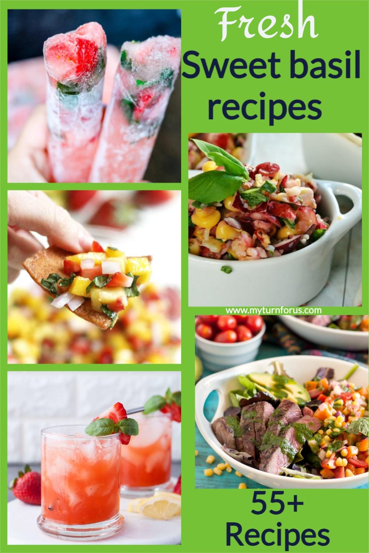 sweet basil recipes that use fresh basil