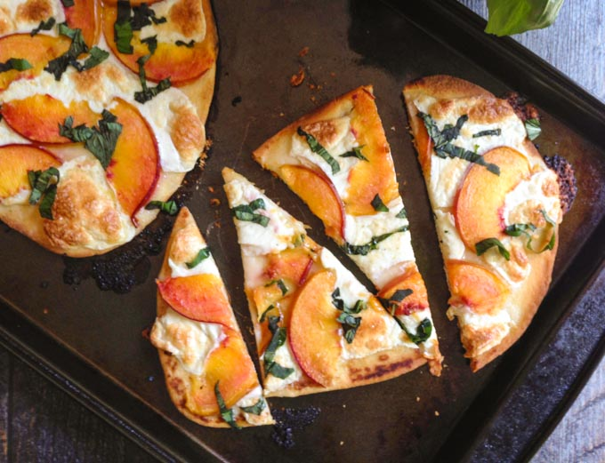 sweet basil flatbread