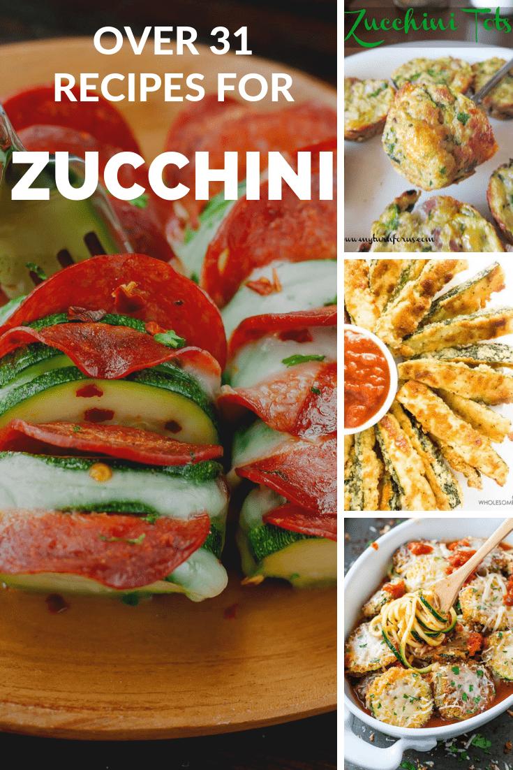 Italian Zucchini Squash, Uses For Zucchini, Ways To Use Zucchini, Zucchini Recipes