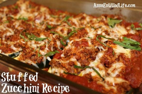 Italian Zucchini Recipe