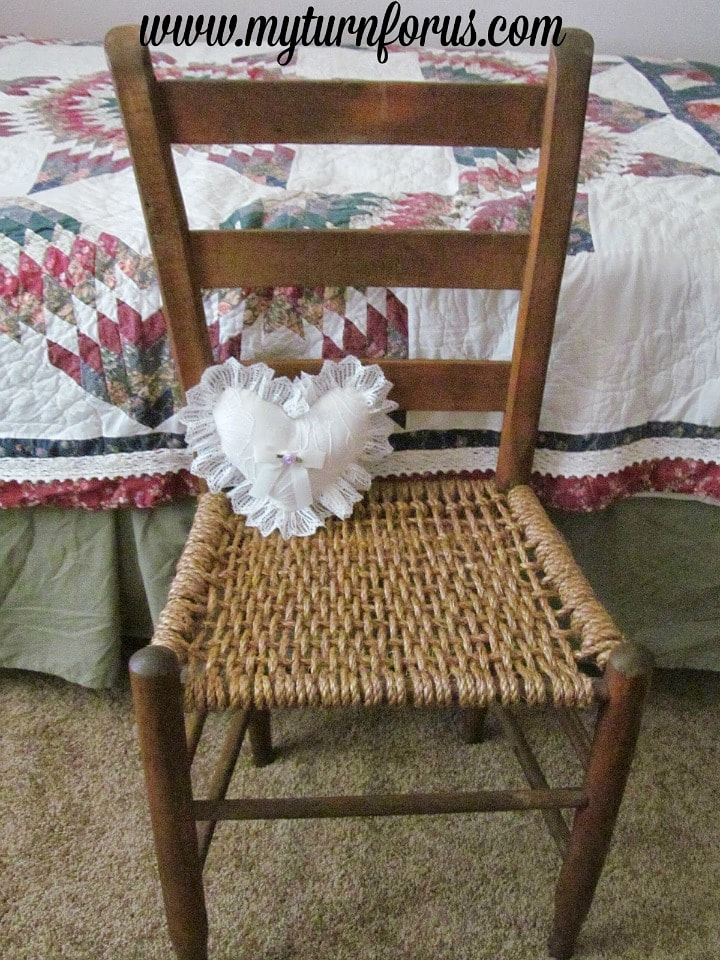 restoring a hemp seat chair