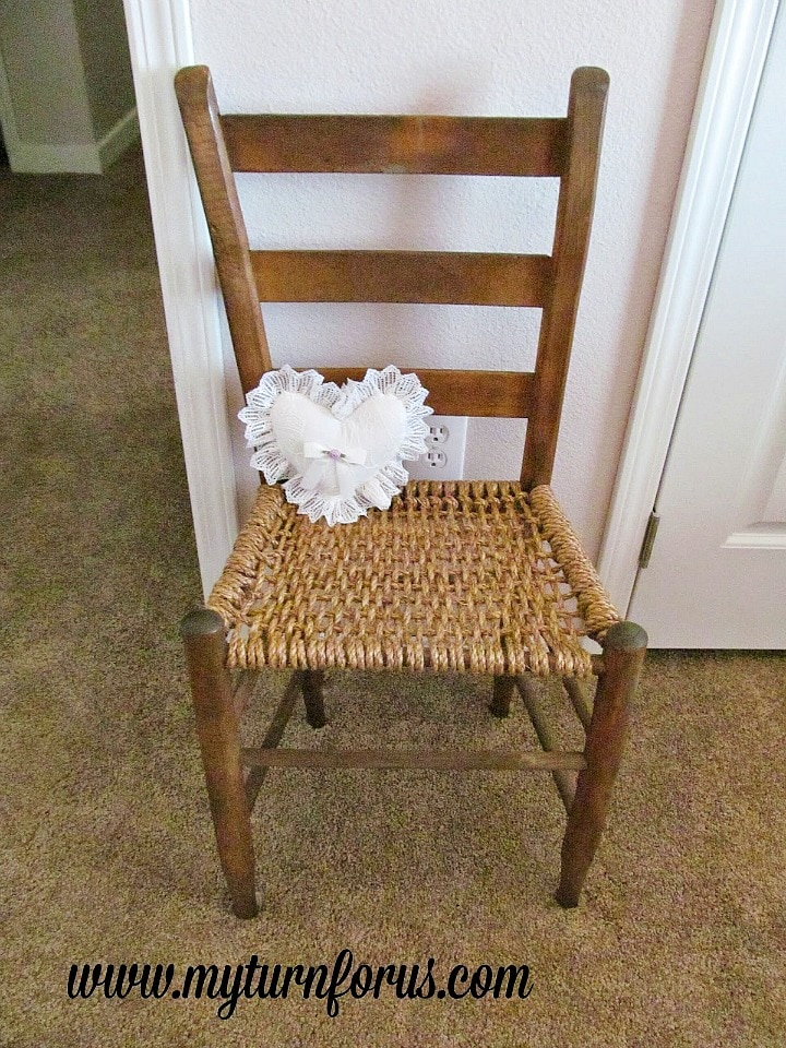 Restore a Hemp Seat Chair