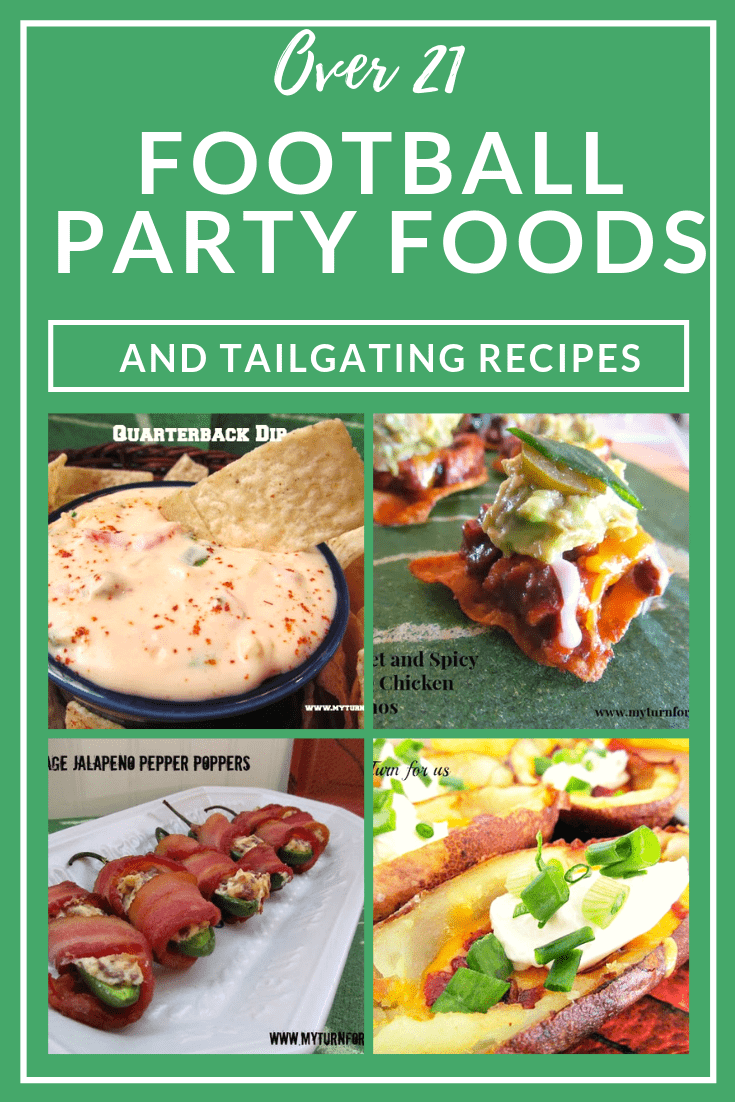 Football Party Food Recipes, Game day Appetizers