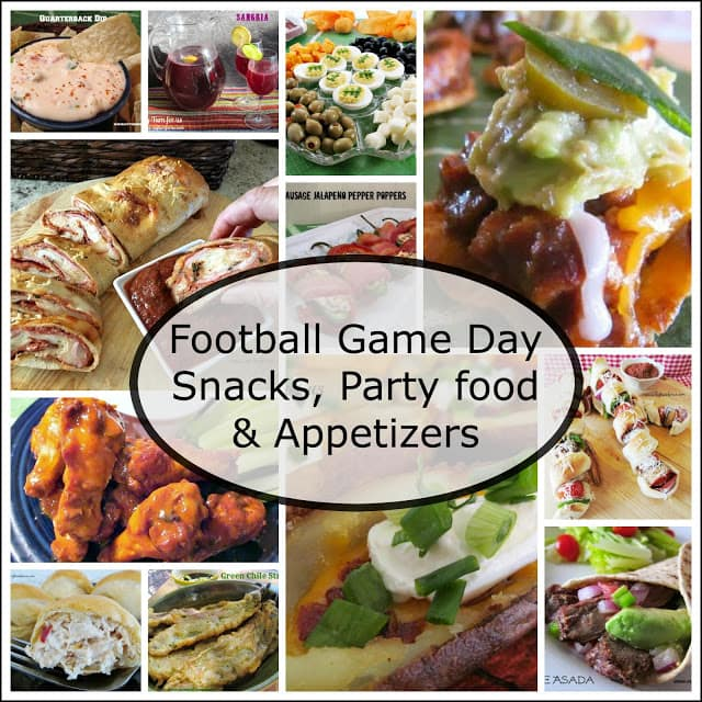 Tailgating and game day celebration recipes