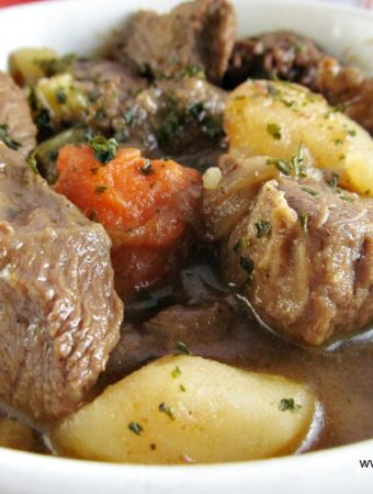 How to make a Chunky Beef Stew