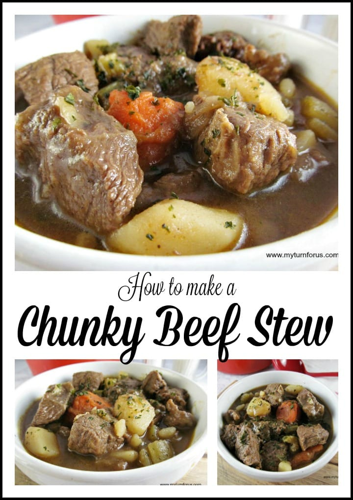 How to Make a Chunky Beef Stew #BeefStew #ChunkyBeefStew #Stew
