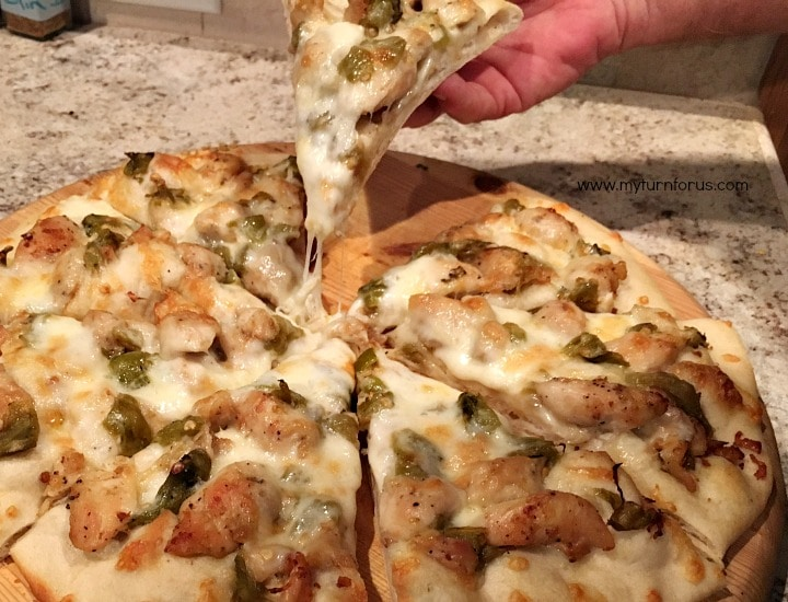 How to grill piza