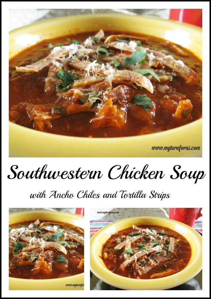 A spicy Southwestern Chicken Soup Recipe