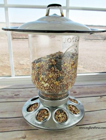 How to Make a Unique Mason Jar Bird Feeder