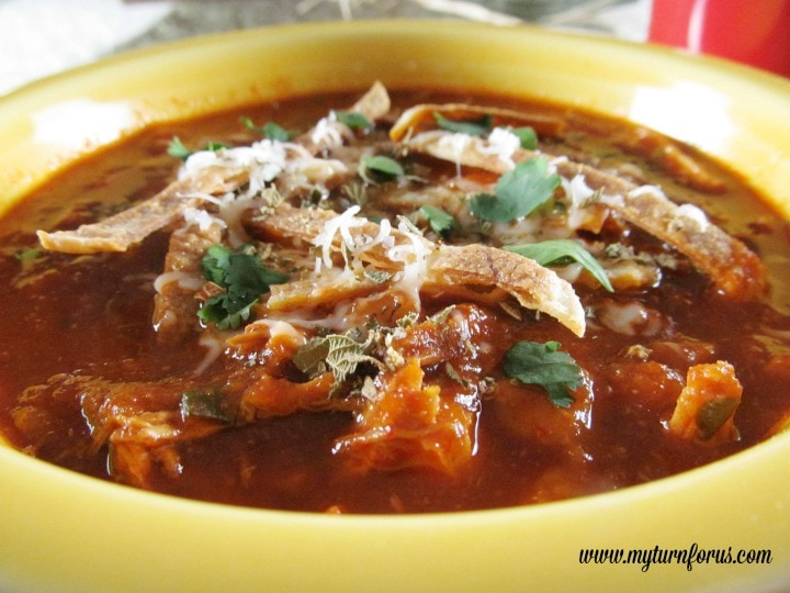 Best chicken tortilla Soup recipe, southwestern chicken soup