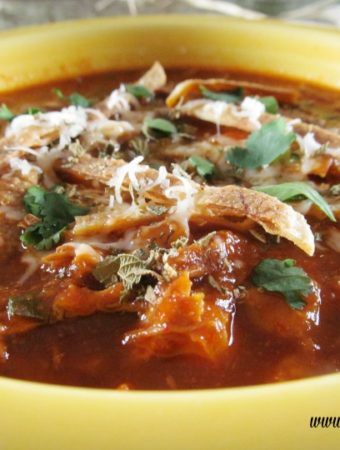 How to make the Best Chicken Tortilla Soup Recipe