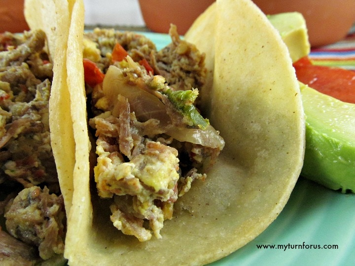 Machaca recipe with egg