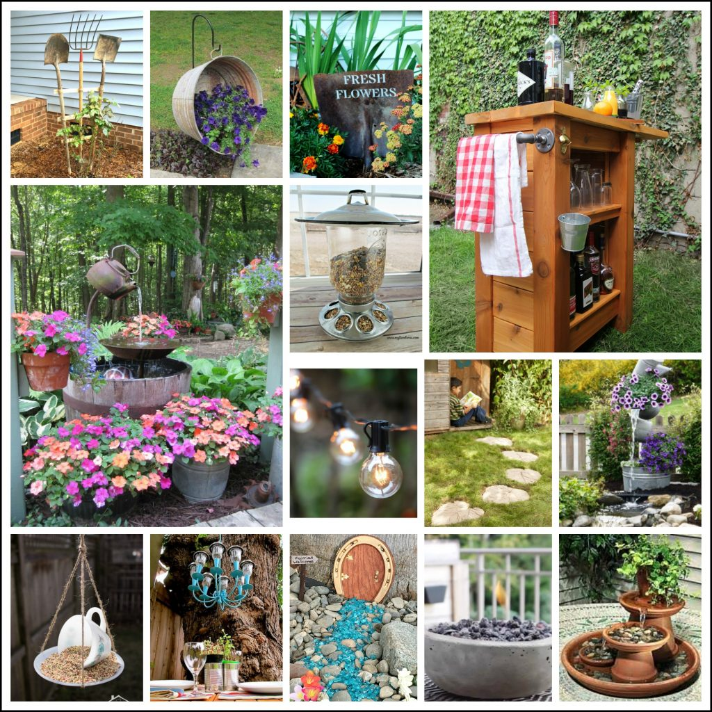 23 Best DIY Backyard Projects And Garden Ideas