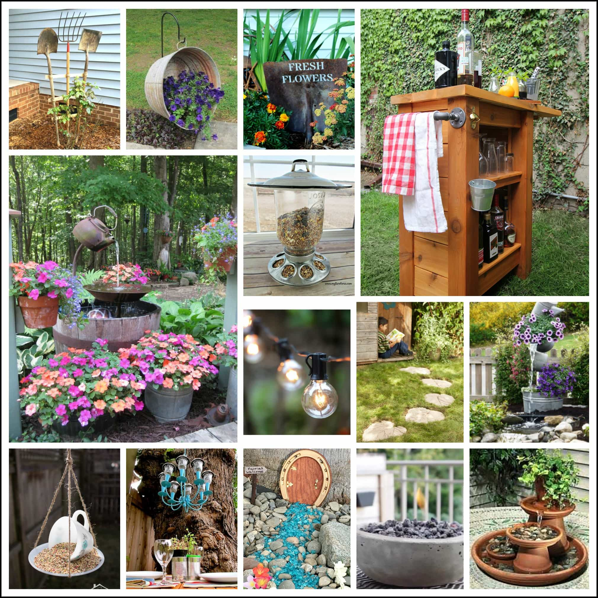 Backyard Projects And Garden Ideas